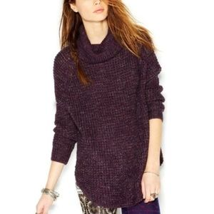 Free People Dylan Chunky Turtleneck Sweater